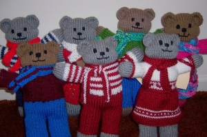 Our bear family has gone on safari to Africa with the Mother Bear Project.
